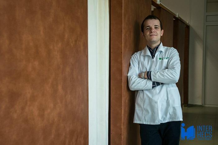 A graduate student in Bulgaria