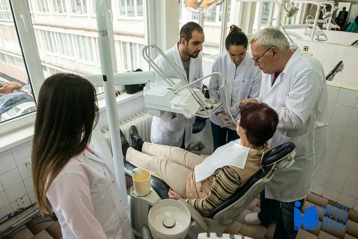 Dental Students in Bulgaria